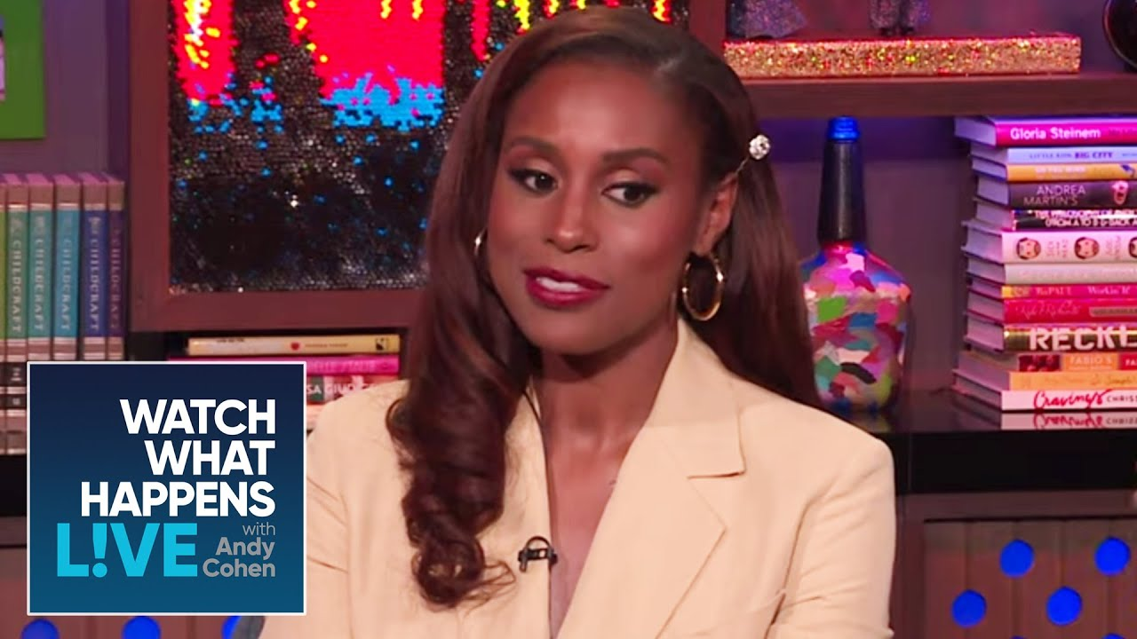 Issa Rae Reacts to Sitting Next to Lisa Rinna | WWHL