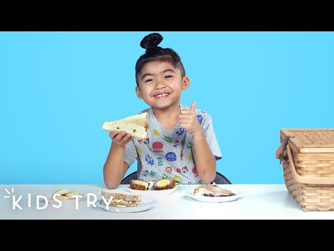 Kids Try Picnic Food from Around the World | Kids Try | HiHo Kids