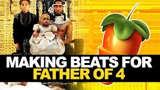 IF I PRODUCED FOR OFFSET'S FATHER OF 4 (FL Studio Cookup)