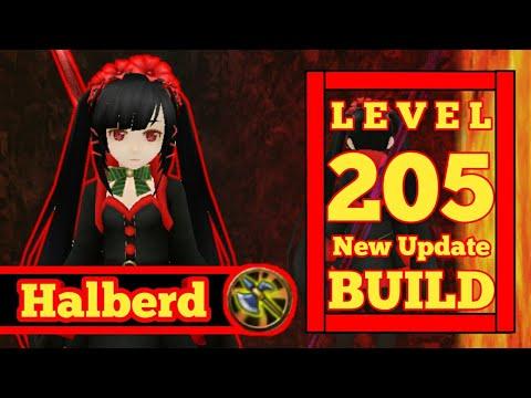 [Toram Online] Build Halberd DPS Level 205 By :kurumi: HB