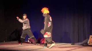 Epic Cosplay Fight!!!!! (Another Anime Convention 2016)