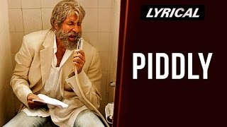 Piddly Si Baatein | Full Song with Lyrics | SHAMITABH Thumb