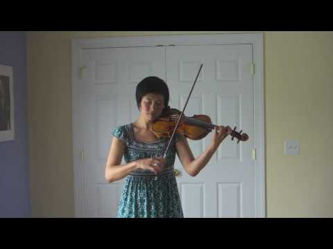 A Minute of Bach by Jennifer Koh, at the Castleton Festival