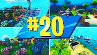 NEW TOP 20 BEST ZONE WARS Creative Maps With CODES | Fortnite Zone Wars Map CODES