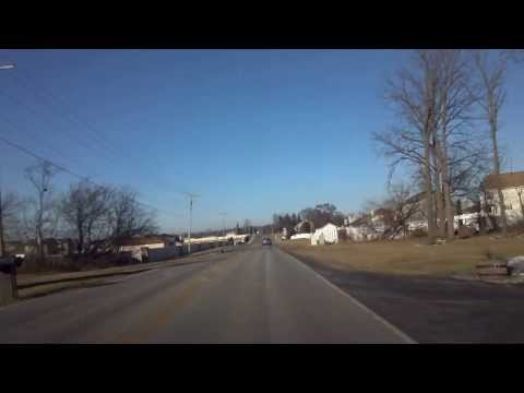 Driving around Fairview Heights in illinois
