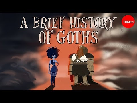 Video image: A brief history of goths - Dan Adams