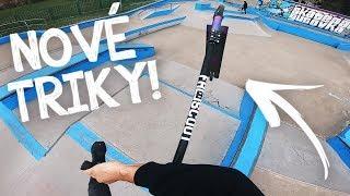 UČÍM SE NOVÉ TRIKY! 2 | Freestyle Scootering #16