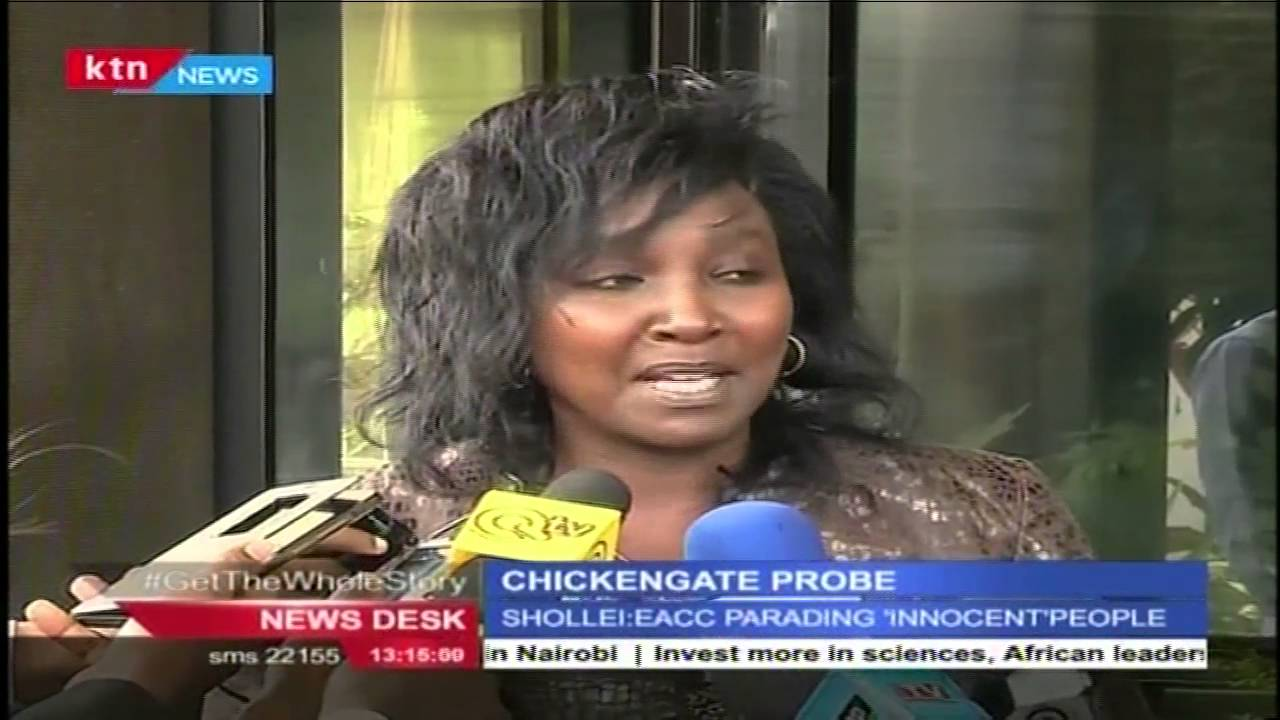 Gladys Shollei grilled over Chicken-gate scandal at the defunct IIEC