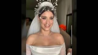 حصريا زفاف الممثلة التركية بطلت مسلسل مرال     /  HAZAL KAYA