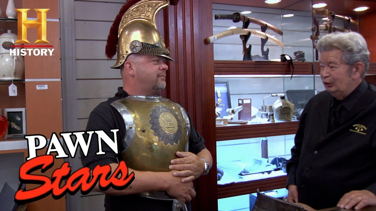 Download Rick CHARGES into Battle for French Cavalry Armor | Pawn Stars (Season 7) | History