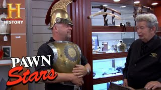 Rick CHARGES into Battle for French Cavalry Armor | Pawn Stars (Season 7) | History