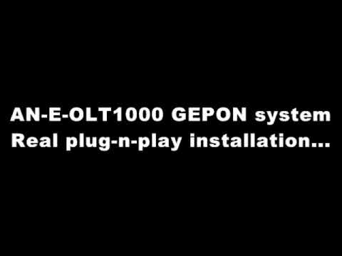 GEPON OLT and ONU plug-n-play testing example - less than 4 minutes!