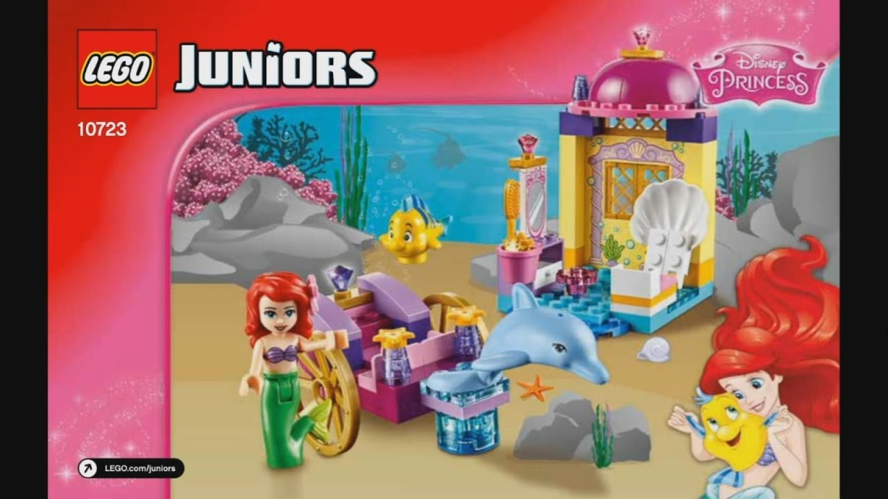 Ariel's 10723 Juniors Dolphin Instruction Timelapse Lego Carriage vn0ONyPm8w