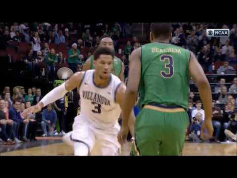 Villanova Guard Josh Hart Career High 37 Points vs Notre Dame