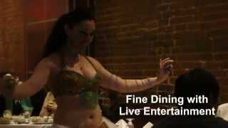 Belly dancing - live entertainment in Midtown Manhattan | free restaurant entertainment