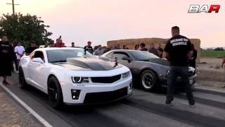 20min Heads Up Street Racing Video! - HeadsUpMuscle Shootout