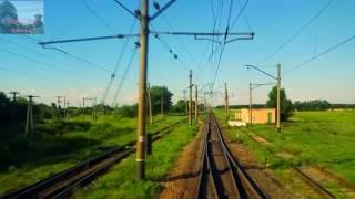 Кривой Рог-Главный - Кривой Рог-Сортировочный. Гонки на грузовых поездах.