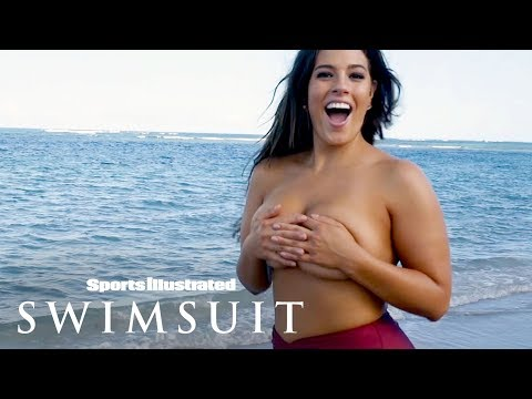 Ashley Graham Takes It Off, Goes Wild Behind The Scenes   Outtakes   Sports Illustrated Swimsuit