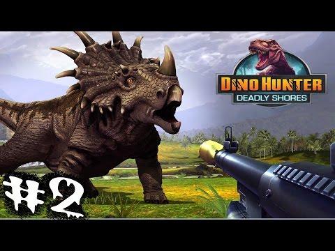 Динозавры Охотник на динозавров регион-2 автомат Видео для детей Dinosaur Hunter 1-part Region-2 恐龙.
