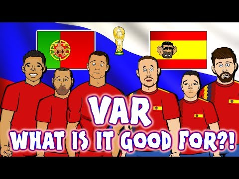 📺VAR📺 WHAT IS IT GOOD FOR? Portugal & Spain don't know! (Ron