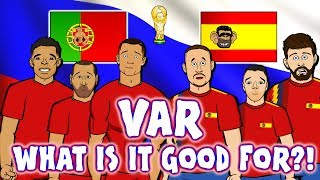 📺VAR📺 WHAT IS IT GOOD FOR? Portugal & Spain don't know! (Ronaldo elbow Cedric handball Aspas Goal)