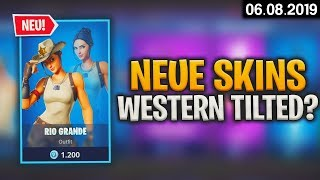FORTNITE SHOP à partir de 6.8 - 🤠 New Skins! 🛒 Fortnite Daily Item Shop d'aujourd'hui (06 août 2019) Detu Detu