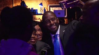 Gillum thanks supporters amid federal activity in Tallahassee