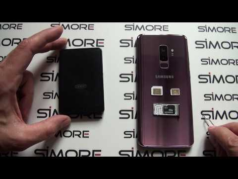 Galaxy S9 Bluetooth Triple Dual SIM Adapter Android For S9 With 3 Numbers Active At The Same Time
