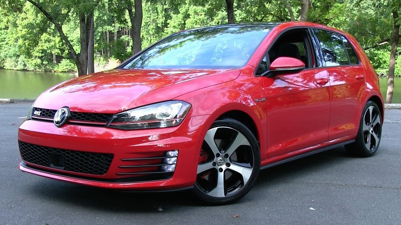 Golf R Vs Gti >> 2015 Volkswagen Golf GTI Autobahn (Mk7) Start Up, Road Test, and In Depth Review - YouTube