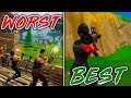 EVERY GAMEMODE In FORTNITE From WORST To BEST! (Fortnite Battle Royale)