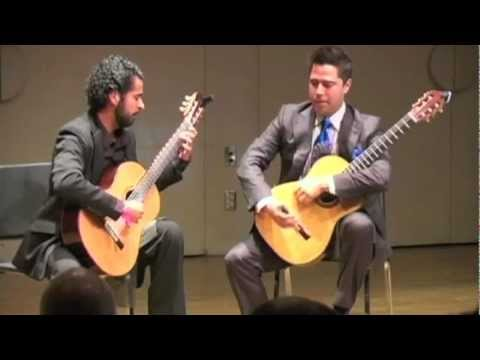 "CSUN Classical Guitar duo performs ""Deciso"" By Astor Piazzolla"