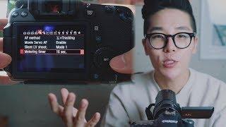 영상을 위한 캐논 DSLR 세팅법 (feat. Canon 70D)