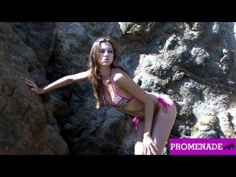 Eufrat – Leopard Print Bikini Photo Shoot – Promenade Models