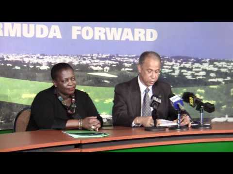 PLP Announce Stephen Todd Southampton East Central Candidate Bermuda November 9 2011