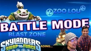 Skylanders Swap Force Arkeyan Crossbow Battle Mode: Treacherous Beach w/ Guha Bala - CEO @ VV