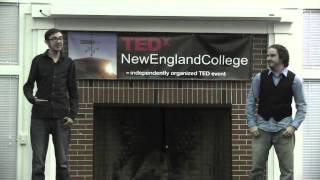 Let Your Gender Flag Fly Freely | Jack & Kris Shultz | TEDxNewEnglandCollege