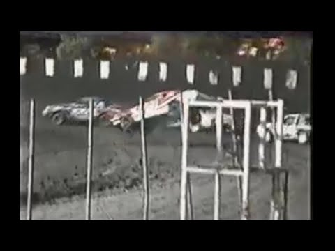 Stock Car Rollover at Petaluma Speedway 2002