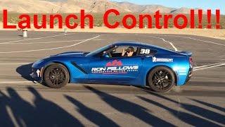 launch control demo c7 corvette auto manual