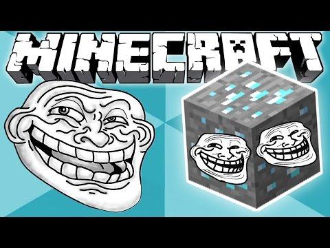 Sonorous Troll Diamond Blocks!! (Minecraft Mod Showcase)