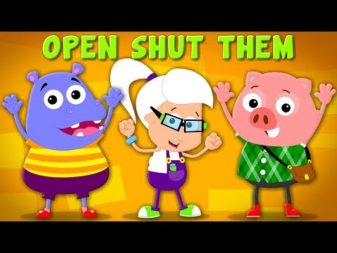 Open Shut Them | Nursery Rhymes | Baby Songs | Children Rhyme