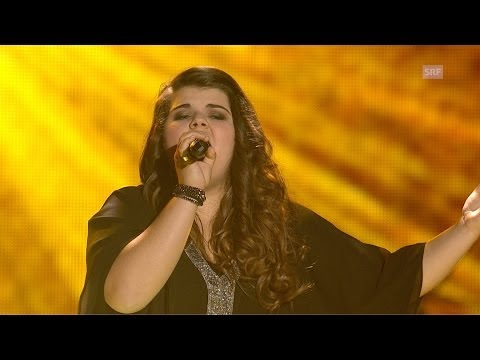 Tiziana Gulino - Warrior - Finale - The Voice of Switzerland 2014