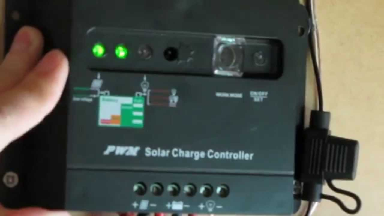 get you started how to operate pwm solar charge controller. Black Bedroom Furniture Sets. Home Design Ideas