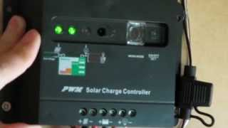 Get you started how to operate Pwm solar charge controller