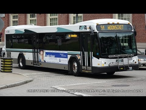 RHODE ISLAND PUBLIC TRANSIT AUTHORITY (RIPTA) BUS VIDEO COMPILATION