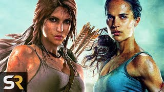 4 Major Differences Between The Tomb Raider Film and Game