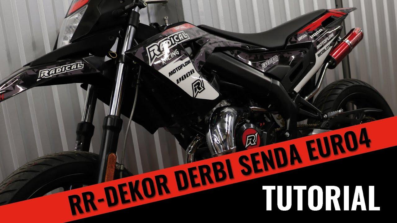 Radical Racing Dekor | Derbi Senda Euro4 | Tutorial | Gearparts24