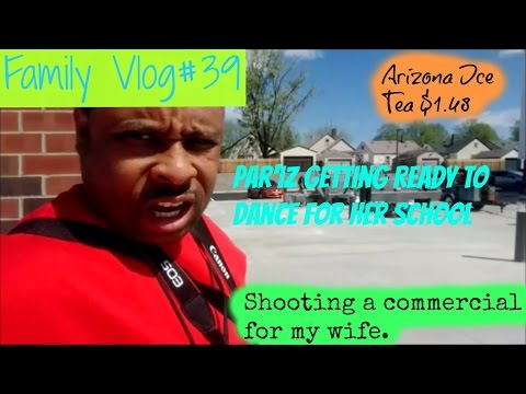 My FamilyVlog#39 Commerical Time With Wife | $1.48 Arizona Ice Tea