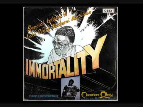 Commander Ebenezer Obey ~ Tribute to the late Chief Obafemi Awolowo (part a)