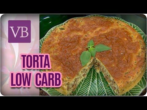 Torta de Carne Moída Low Carb - Você Bonita (01/03/18)