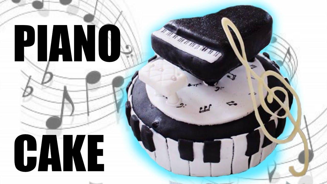 Keyboard Cake Tutorial